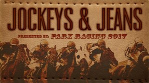 Jockeys and Jeans Drawing 17 Hall of Fame Riders