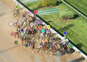 2017 Kentucky Derby Race Sequence