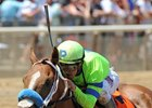 War Story Storms the Field to Take Brooklyn Stakes