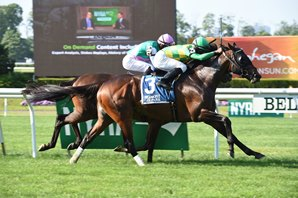 Ballagh Rocks Gets Graded Victory in Poker Stakes