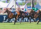 Senga Rallies for Prix de Diane Score