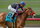Madam Dancealot Closes From Last to Win San Clemente