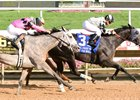 It Tiz Well Holds Off Challengers in Delaware Oaks