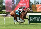 Cherry Lodge Gets Advantage Over Rubilinda at Belmont
