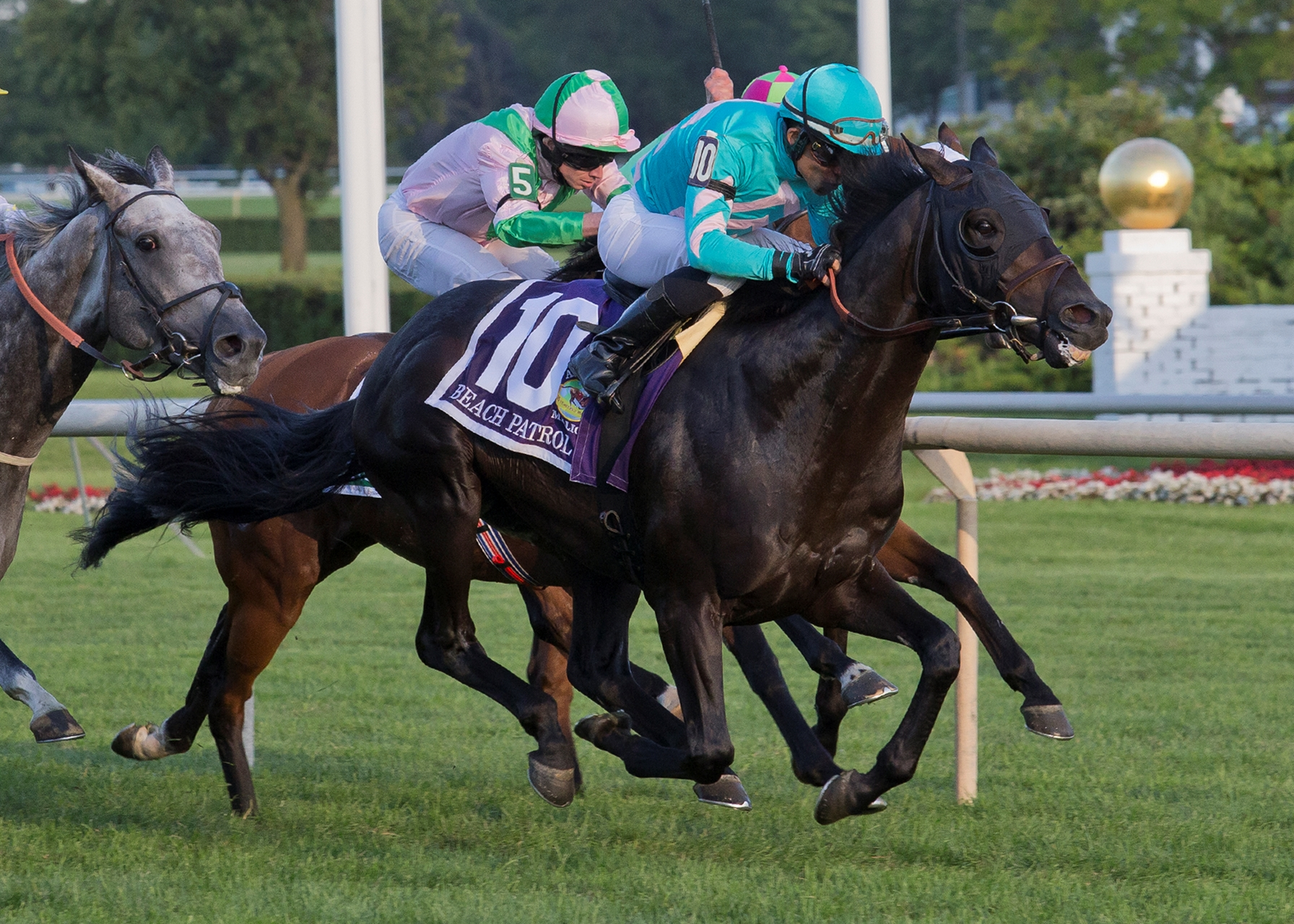 Beach Patrol wins Arlington Million, earns birth in Breeders' Cup Turf