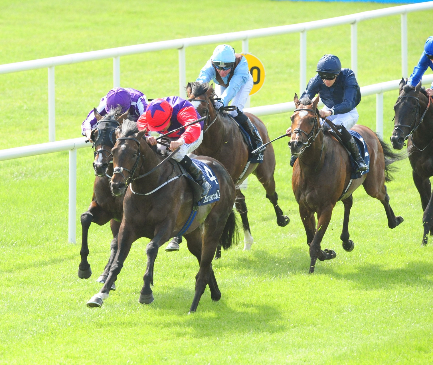 Romanised Springs Upset in Irish Two Thousand Guineas