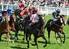 "Sole Power wins the Kings Stands Stakes. <br><a target=""blank"" href=""http://photos.bloodhorse.com/AtTheRaces-1/At-the-Races-2014/i-ms6gsh8"">Order This Photo</a>"
