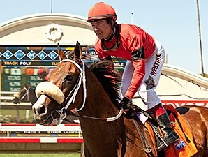 Jockey Tyler Baze earned his 2,000th career victory aboard Kate's Event at Del Mar on August 14.