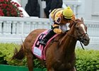 "Wise Dan rolls home to win the Woodford Reserve Turf Classic.<br><a target=""blank"" href=""http://photos.bloodhorse.com/AtTheRaces-1/at-the-races-2013/27257665_QgCqdh#!i=2493078798&k=H3cVG9g"">Order This Photo</a>"