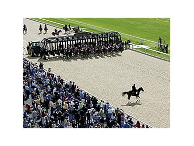 The first race on the Keeneland Polytrack was on October 6, 2006.