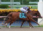 Twotwentyfive A won the Affirmed Division of the Florida Sire Stakes Series on Sept 6.