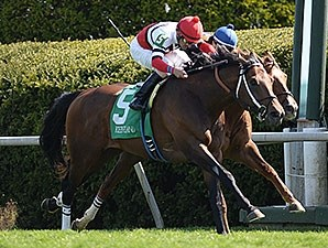 Marchman won the Shakertown Stakes at Keeneland in the spring