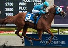 Alpha Bettor won the Seagram Cup Stakes on Aug. 8.