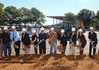 Ground breaking ceremony at Monmouth Park on Oct. 8.