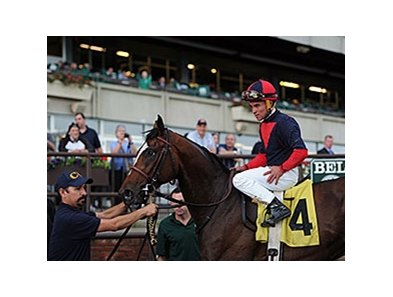 "Peter Pan winner Tonalist<br><a target=""blank"" href=""http://photos.bloodhorse.com/AtTheRaces-1/At-the-Races-2014/i-52pMvm4"">Order This Photo</a>"