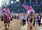 The Kentucky Oaks survivors parade.