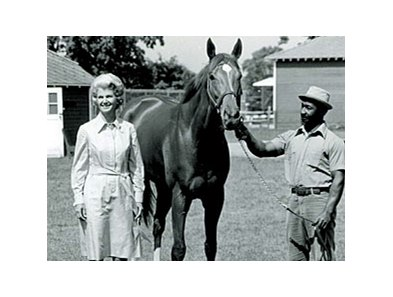 Secretariat and Penny Chenery
