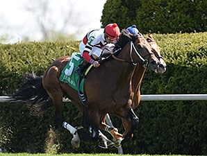 Marchman cannot be caught in the Shakertown Stakes.