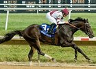 Royal Delta dominates the Delaware Handicap.
