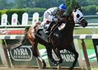 "Moreno won the 2013 Dwyer Stakes. <br><a target=""blank"" href=""http://photos.bloodhorse.com/AtTheRaces-1/at-the-races-2013/27257665_QgCqdh#!i=2618632623&k=rBXZPGC"">Order This Photo</a>"