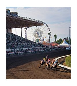 Racing at Fairplex Park