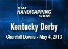 That Handicapping Show: The Kentucky Derby