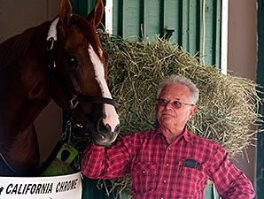 California Chrome Right at Home at Pimlico