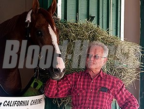 Art Sherman with California Chrome