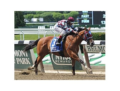 Bessie's Boy cruised to victory in the Tremont Stakes.