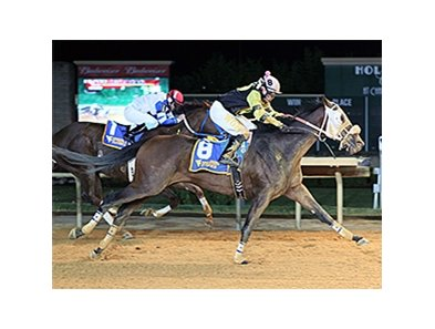 Fred High wins the West Virginia Breeders Classic Stakes.