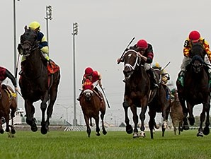 Karibu Gardens delivers victory in the Sky Classic at Woodbine.