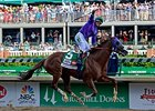 "Derby winner California Chrome has post 3 for the Preakness.<br><a target=""blank"" href=""http://photos.bloodhorse.com/TripleCrown/2014-Triple-Crown/Kentucky-Derby-140/i-DNSdvKL"">Order This Photo</a>"