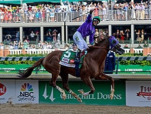 Derby winner California Chrome has post 3 for the Preakness.