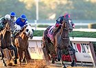 Tonalist wins the Jockey Club Gold Cup.