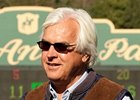 Trainer Bob Baffert will be seeking a record 10th win in the Chandelier Stakes.