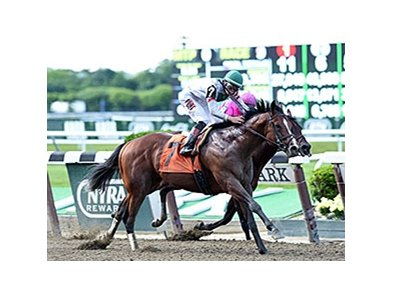 "Palace leaves Bakken behind in the True North.<br><a target=""blank"" href=""http://photos.bloodhorse.com/AtTheRaces-1/At-the-Races-2014/i-ssjSkQQ"">Order This Photo</a>"
