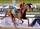 "Beholder rolls to victory in the Breeders' Cup Distaff.<br><a target=""blank"" href=""http://photos.bloodhorse.com/BreedersCup/2013-Breeders-Cup/Distaff/33149827_x5ZZPc#!i=2876557217&k=QPcGXCV"">Order This Photo</a>"