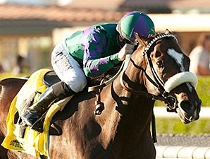 Big Bane Theory and Joe Talamo take the City of Hope Mile Stakes.