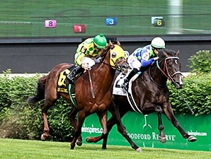 War Dancer won the Louisville Handicap at 1 1/2 miles in May.