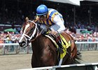 "Fashion Alert takes the Schuylerville Stakes on opening day at Saratoga.<br><a target=""blank"" href=""http://photos.bloodhorse.com/AtTheRaces-1/At-the-Races-2014/i-9xj92bd"">Order This Photo</a>"