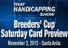 THS: Breeders' Cup Preview - Saturday Card