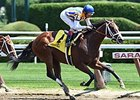 "Fashion Alert won the Schuylerville Stakes by 1 1/2 lengths.<br><a target=""blank"" href=""http://photos.bloodhorse.com/AtTheRaces-1/At-the-Races-2014/i-87G6nxF"">Order This Photo</a>"