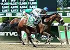 "Sweet Reason gets by Sweet Whiskey to take the Acorn Stakes. <br><a target=""blank"" href=""http://photos.bloodhorse.com/AtTheRaces-1/At-the-Races-2014/i-sVfCfWd"">Order This Photo</a>"