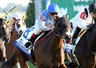 Overheard won the 2013 Pin Oak Valley View Stakes, and will face stablemate Deceptive vision, as well as 6 others in the Dance Smartly Stakes.