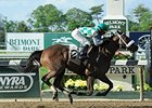 "Merry Meadow seeks her second straight grade III victory in the Bed o' Roses Handicap.<br><a target=""blank"" href=""http://photos.bloodhorse.com/AtTheRaces-1/At-the-Races-2014/i-xR2FBXw"">Order This Photo</a>"