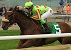 Speed Seeker and Luis Contreras come on strong to win the Ontario Colleen Stakes.