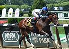 "Wonder Gal won the Lynbrook Stakes by 14 1/2 lengths on July 6.<br><a target=""blank"" href=""http://photos.bloodhorse.com/AtTheRaces-1/At-the-Races-2014/i-gVtf8MN"">Order This Photo</a>"