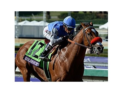 "Goldencents<br><a target=""blank"" href=""http://photos.bloodhorse.com/BreedersCup/2013-Breeders-Cup/Dirt-Mile/33149801_zx584H#!i=2876858710&k=cF9QJ3N"">Order This Photo</a>"