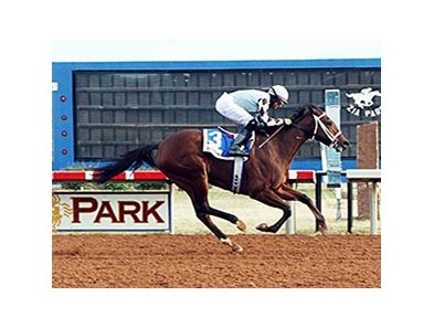 Unusual Way won the first-ever Zia Park Oaks.