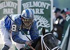 "Jazil won the 2006 Belmont Stakes.<br><a target=""blank"" href=""http://photos.bloodhorse.com/TripleCrown/Older-Triple-Crown-Images/Past-Belmont-Stakes-Winners/i-J9DTVRf"">Order This Photo</a>"